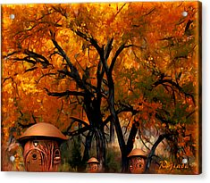 Autumn Fairies Resort Acrylic Print