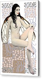 Autumn Fairy Acrylic Print