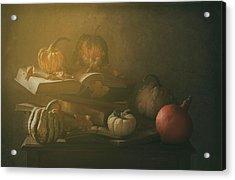 Autumn family Portrait Acrylic Print