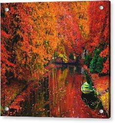 Autumn Fantasy Acrylic Print