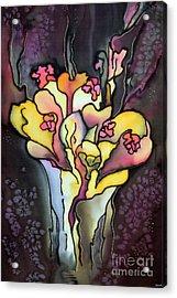 Autumn Fire Acrylic Print by Ursula Schroter