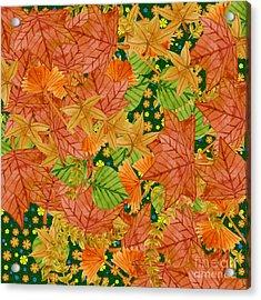 Autumn Floor Acrylic Print
