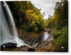 Autumn Flow Acrylic Print by Serge Skiba