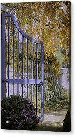 Autumn Garden Acrylic Print by Julie Palencia