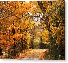 Autumn Gate Acrylic Print