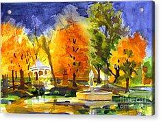Autumn Gold 2 Acrylic Print by Kip DeVore