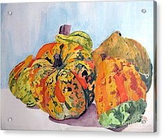 Autumn Gourds Acrylic Print