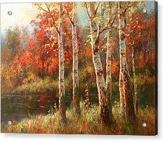 Autumn Grace Acrylic Print