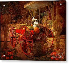 Autumn Harvest At Brewster General Acrylic Print
