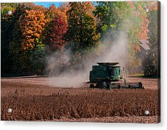 Autumn Harvest Acrylic Print by Gene Sherrill