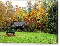 Autumn Home Acrylic Print
