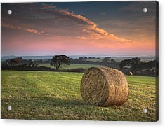 Autumn In Cornwall Acrylic Print by Christine Smart