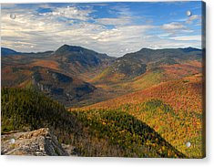 Autumn In Crawford Notch Acrylic Print