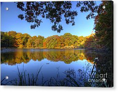 Autumn In Heaven Acrylic Print