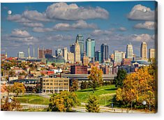 Autumn In Kansas City Acrylic Print