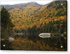Autumn In Kinsman Notch Acrylic Print