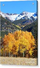 Autumn In Lake City Acrylic Print