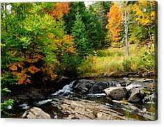 Autumn In New England Acrylic Print