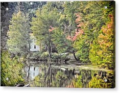 Autumn In Pastel Acrylic Print