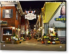 Autumn In Penny Lane - Rehoboth Beach Delaware Acrylic Print