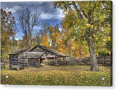 Acrylic Print featuring the photograph Autumn In Southern Indiana by Wendell Thompson