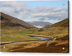 Autumn In The Cairngorms Acrylic Print by John Topman