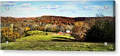 Autumn In The Country Acrylic Print by Cricket Hackmann