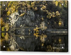 Autumn In The Lake Acrylic Print