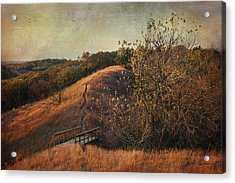 Autumn In The Loess Hills Acrylic Print by Jeff Swanson