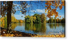 Autumn In The Park 2 Acrylic Print