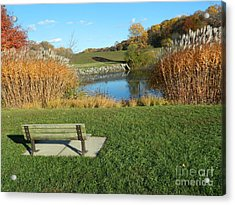 Autumn In The Park Acrylic Print