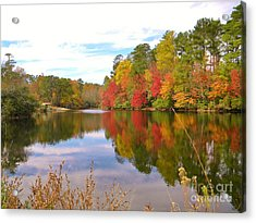 Autumn In The South Acrylic Print