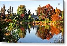 Autumn In Wisconsin Acrylic Print