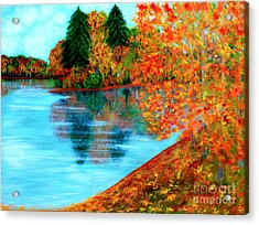 Autumn. Inspirations Collection. Acrylic Print