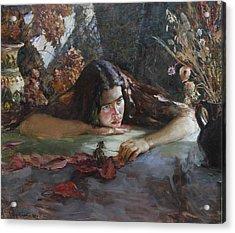 Autumn Acrylic Print by Korobkin Anatoly