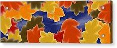 Autumn Leaves Acrylic Print by Gdw3