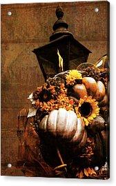 Autumn Light Post Acrylic Print by Dan Sproul