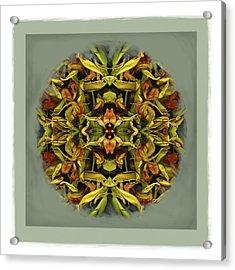 Autumn Mandala Acrylic Print