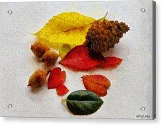 Autumn Medley Acrylic Print by Jeff Kolker