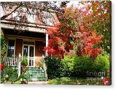 Autumn Neighbors Acrylic Print