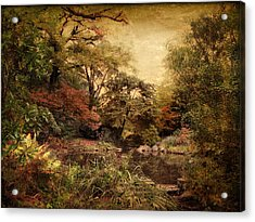 Acrylic Print featuring the photograph Autumn On Canvas by Jessica Jenney