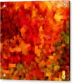 Autumn On My Mind Acrylic Print by Lourry Legarde