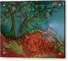 Autumn On The Edge Acrylic Print