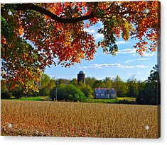 Autumn On The Farm Acrylic Print