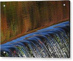 Autumn Over The Falls Acrylic Print