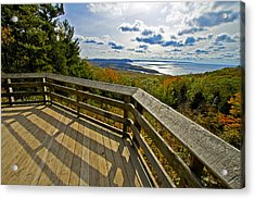 Autumn Overlook Acrylic Print