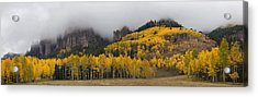 Autumn Panoramic Acrylic Print