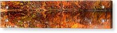 Autumn Paradise Acrylic Print by Lourry Legarde