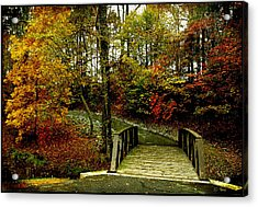 Acrylic Print featuring the photograph Autumn Peace by James C Thomas
