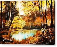 Changing Of The Season Acrylic Print
